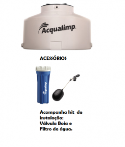 caixa aqualimpa Agua Limpa