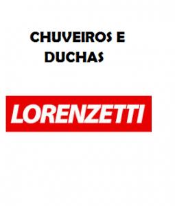 CHUVEIROS DE DUCHAS LORENZETTI