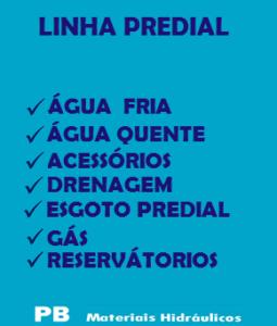 1-LINHA PREDIAL